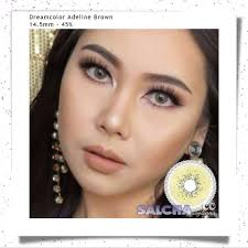 DREAMCOLOR ADELINE BROWN | Shopee Indonesia