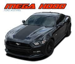 Mega Hood Ford Mustang Hood Decal Mustang Hood Vinyl Graphic