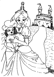 Prinsessen Kleurplaten