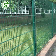High Security Black Twin Wire Fencing Panels Green Backyard Metal Fence China Backyard Metal Fence Twin Wire Fence Made In China Com