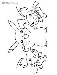 Pikachu Coloring Pictures Coloring Home