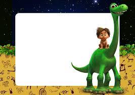 Kit Imprimible Un Gran Dinosaurio Gratis Invitaciones De