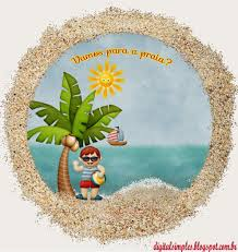 Kit Vamos A La Playa Para Imprimir Gratis Ideas Y Material