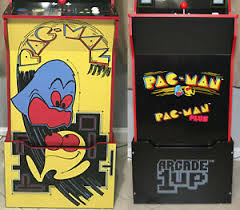 Arcade1up Cabinet Riser Graphics Pacman Pac Man Graphic Sticker Decal Set Ebay