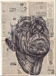 Mark Powell Biro Pen Drawings | Biro drawing, A level art sketchbook, Biro  art