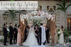 jewish wedding at vizcaya museum