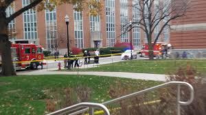 Ohio State students photograph lockdown