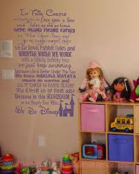 In This Castle We Do Disney Vinyl Lettering Art Inspirational Wall Decal Stickers For Home Decor Quote