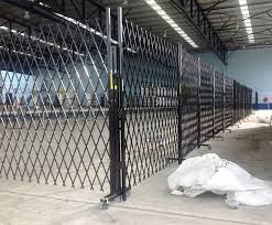 Mobile Trackless Security Temporary Fencing For Hire The Australian Trellis Door Co