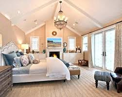 slanted ceiling bedroom lighting