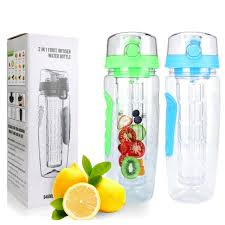 32 oz glass water bottle insulated