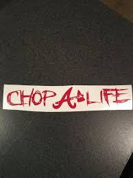 Atlanta Braves Decal Chop Life Sticker By Pruesprints On Etsy Atlanta Braves Braves Atlanta