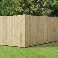 Outdoor Essentials 1 2 In X 4 In X 6 Ft Dog Ear Brazilian Pine Fence Picket 12 Pack 344291 The Home Depot