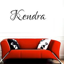 Madison Wall Decal Childrens Personalized Name Independence