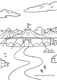 Ayame Sangar Circus Vlag Kleurplaat
