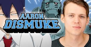"""Oz Comic-Con on Twitter: """"Anime voice actor Aaron Dismuke is ..."""