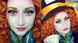wonderland mad hatter makeup tutorial