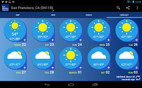 best 45 weather channel app background