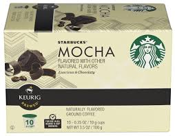 k cup mocha flavored ground coffee