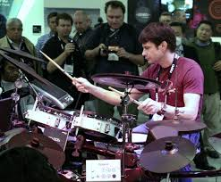 Johnny Rabb Demonstrating Roland Drums at CES 2009 | Flickr
