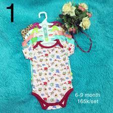 Đồ body / Bodysuit áo liền quần cho trẻ sơ sinh rẻ đẹp