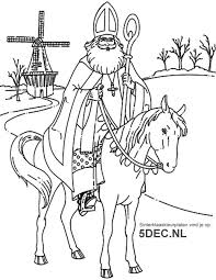 Sinterklaas Knutselen Sinterklaas Kleurplaten Sinterklaas En