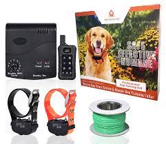 Pet Control Hq Wireless Combo Electric Dog Fence System