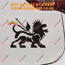 Lion Of Judah Decal Sticker Rasta Rastafari Flag Car Vinyl Jamaica Ethiopia Car Stickers Aliexpress