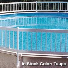 Protect A Pool Above Ground Safety Fence Kits A B C Backyard Pool Landscaping Pool Landscaping Above Ground Pool Fence