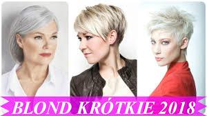 Top 15 Krotkie Blond Wlosy Fryzury 2018 Youtube
