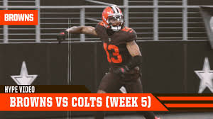Browns vs Colts (Week 5)