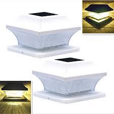 Solar Post Cap Lights Outdoor Super Brig Buy Online In Belize At Desertcart