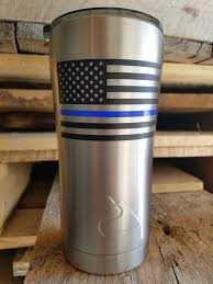 Thin Blue Line Car Decal Police Decal Decals For Cars And Etsy