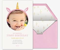 free baby s first birthday invitations