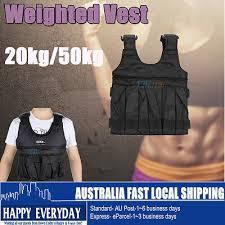 20 50kg 5 10kg weighted vest adjule
