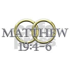 Matthew 19 4 6 35x21 Oval Wall Decal By Ejr Cafepress