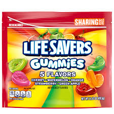 life savers gummies 5 flavors candy