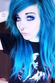 scene makeup ideas for blue eyes