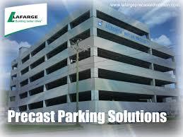 precast parking garage construction