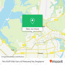 how to get to ntu staff club gym 63