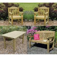 elda heavy duty garden furniture set