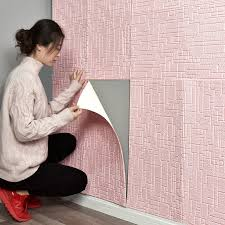 Mew 3d Brick Wall Stickers Living Waterproof Foam Room Bedroom Diy Adhesive Wallpaper Art Home Wall Decals Wall Stickers Aliexpress