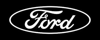 Amazon Com Ford Rear Window Oval Decal White 24 X 8 Home Kitchen