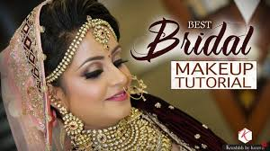 best bridal makeup tutorial indian