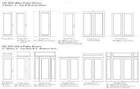 standard exterior door height zgert co