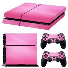 Pink Vinyl Decal Skin Sticker Cover For Ps4 Playstation 4 Console 2 Controller Stickers Aliexpress