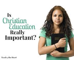 is christian education really important