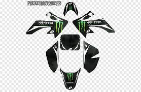 Monster Energy Pit Bike Motorcycle Sticker Plastic Motorcycle Logo Motorcycle Sticker Png Pngwing