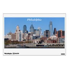 The City Of Philadelphia Wall Decals Stickers Zazzle