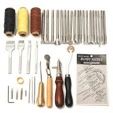 48 pcs leather craft tools kit hand
